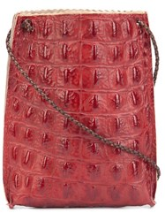 B May 'Cell Pouch' Crossbody Bag Red