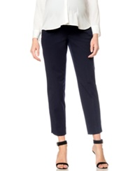 A Pea In The Pod Straight Leg Cropped Maternity Pants