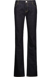 M Missoni Mid Rise Straight Leg Jeans Dark Denim