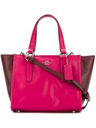 Coach 'Canyon' Tote Red