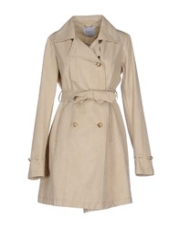 Siste's Siste' S Coats And Jackets Full Length Jackets Women Beige