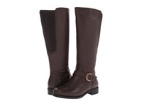 David Tate Branson Extra Wide Shaft Brown Women's Boots