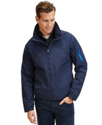 Nautica Big And Tall Solid Lightweight Bomber Jacket Navy