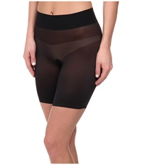 Wolford Sheer Touch Control Shorts Black Women's Shorts