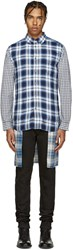 Diesel Blue Plaid S Hum Shirt