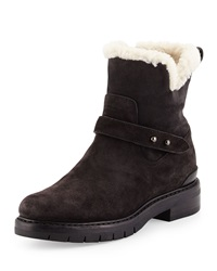 Rag And Bone Rag And Bone Ashford Shearling Fur Lined Suede Ankle Boot