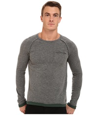 Mavi Jeans Long Sleeve Grey Melange Men's Clothing Gray