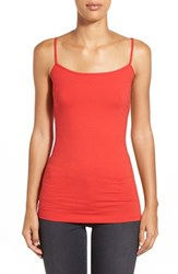 Women's Halogen 'Absolute' Camisole Red Mars