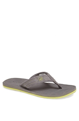 Sperry 'Sharktooth' Flip Flop Men Grey