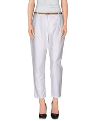 Tommy Hilfiger Trousers Casual Trousers Women White