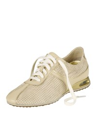 Air Bria Perforated Oxford Sneaker Sandshell Suede Cole Haan