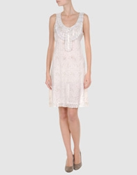 By Ti Mo Short Dresses Ivory