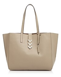 Mackage Aggie Tote Sand Shiny Nickel