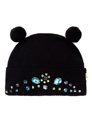 Yumi Bejewelled Bobble Hat