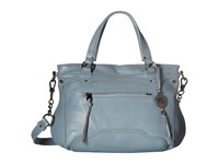 The Sak Tahoe Satchel Blue Mist Satchel Handbags