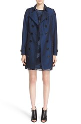 Burberry Women's 'Sandringham' Slim Cotton Trench Coat
