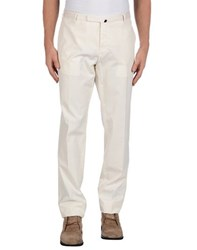 Incotex Trousers Casual Trousers Men Ivory