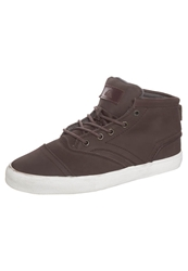 Quiksilver Heyden Hightop Trainers Brown White