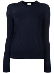 Forte Forte Fine Knit Jumper Blue