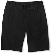 Maison Martin Margiela Cotton Poplin Shorts Black