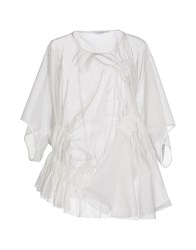 Viktor And Rolf Shirts Blouses Women Ivory