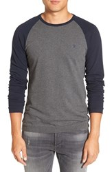 French Connection Men's 'Winter Varsity' Long Sleeve T Shirt
