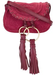 See By Chloe 'Polly' Belt And Crossbody Bag Red