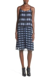 Women's Whitney Eve 'Arroyo' Strappy Plaid Popover Dress