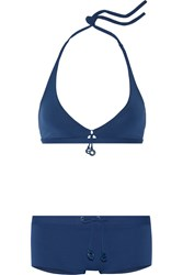 Eres Grigi Play Halterneck Bikini Top Royal Blue