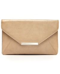 Style And Co. Lily Envelope Clutch Tan