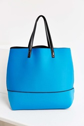 Urban Outfitters Neoprene Beach Tote Turquoise