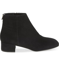 Carvela Swing Suede Ankle Boots Black