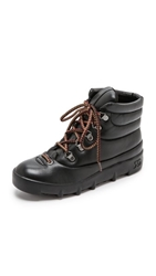 Joe's Jeans Averey Hiker Boots Black