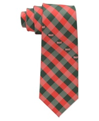 Eagles Wings Milwaukee Bucks Checked Tie