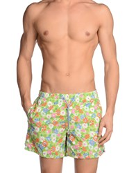 Roda Swimwear Swimming Trunks Men Light Green