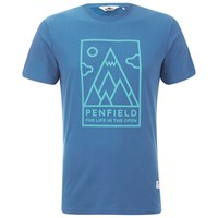 Penfield Men's Peaks T Shirt Sky