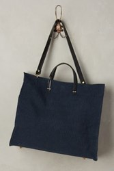 Anthropologie Clare V. Simple Tote Blue One Size Bags