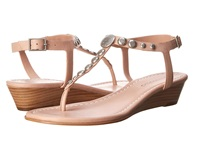 Bernardo Mojo Wedge Blush Calf Women's Sandals Pink
