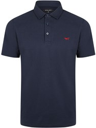 Wolsey Plated Pique Polo Total Eclipse