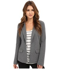 Joie Camylle Blazer Dark Heather Grey Women's Jacket Gray