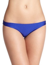 Shoshanna Klein Blue Full Coverage Bikini Bottom