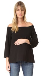 Hatch The Date Night Top Black
