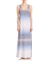 Soft Joie Ager Striped Racerback Maxi Dress Peacoat