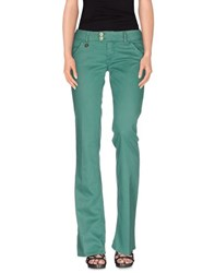 Met And Friends Denim Denim Trousers Women Green