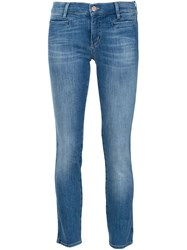 Mih Jeans Cropped Jeans Blue