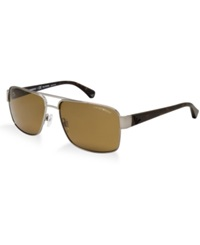 Emporio Armani Sunglasses Ea2002p Gunmetal Brown