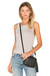 James Perse Wrap Back Tank Gray