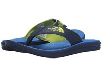 The North Face Base Camp Lite Flip Flop Cosmic Blue Latern Green Men's Sandals