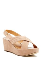 J.Crew Suede Platform Wedge Multi