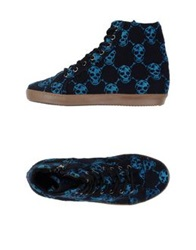 Mancapane High Tops And Trainers Dark Blue